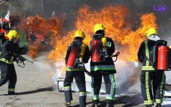 برگزاری مسابقه چالش آتش نشانان کشور در ساوه