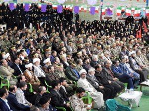 همایش بزرگ بسیجیان شهرستان ساوه
