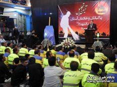 گزارش تصویری – آیین تجلیل از پاکبانان و خادمان سید الشهدا (ع)