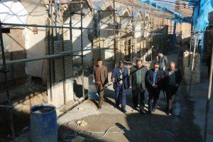 فرماندار ساوه از روند اجرای فاز نخست پروژه مسجد تا مسجد بازدید كرد