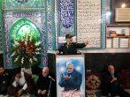 شهادت سردار سلیمانی مایه دوام جنبش اسلامی است