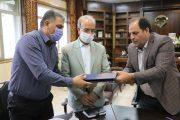عقد قرارداد بزرگترین پروژه مشارکتی شهرداری ساوه