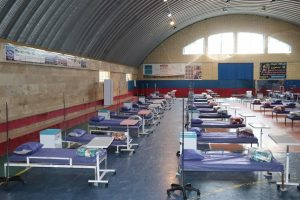 راه اندازی نقاهتگاه بیماران کرونایی در ساوه
