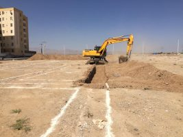 ساخت نخستین پروژه مسکن ملی استان مرکزی در ساوه آغاز شد