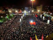 گزارش تصویری مراسم عاشورا و تاسوعای حسینی در ساوه