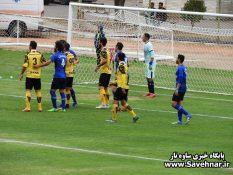 گزارش تصویری – دیدار خوشه طلایی ساوه و داماش گیلان در هفته دهم لیگ دسته یک