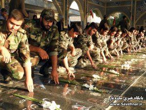 گزارش تصویری – گلباران مزار شهدا در هفته دفاع مقدس
