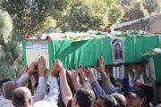 پیکر دو شهید دیگر مدافع حرم در ساوه تشییع و به خاک سپرده شد