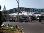برپایی نمایشگاه دفاع مقدس در پارک سوار میدان امام