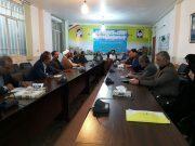 پنجاه و پنجمین جلسه شورای فرهنگ عمومی شهرستان ساوه با حضور اعضا برگزار شد