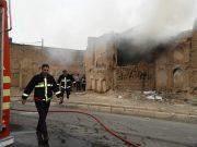 برگزاری مانور مشترک اورژانس و آتش نشانی ساوه