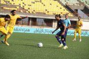 شکست خوشه طلایی در گام دوم لیگ آزادگان